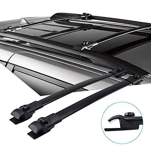PARTOL Roof Rack Crossbars for Toyota Sienna OE Style 2011-2018, Roof Top Cross Bars Luggage Rack for Snowboard Canoe Kayak Bike Cargo Carrier
