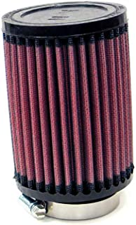 K&N RB-0620 Universal Clamp-On Air Filter: Round Straight; 2.25 in (57 mm) Flange ID; 6 in (152 mm) Height; 3.5 in (89 mm) Base; 3.5 in (89 mm) Top