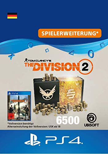Tom Clancy's The Division 2 – 6500-Premium-Credits-Paket - 6500 Credits DLC | PS4 Download Code - deutsches Konto
