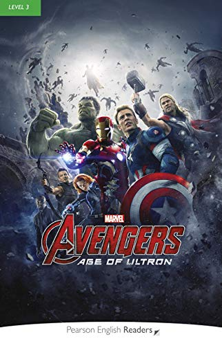 Level 3: Marvel's The Avengers: Age of Ultron Book & MP3 Pack (Pearson English Graded Readers)
