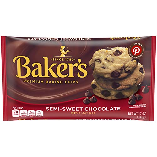 Baker's Semi Sweet Chocolate Chips, 12 Ounce