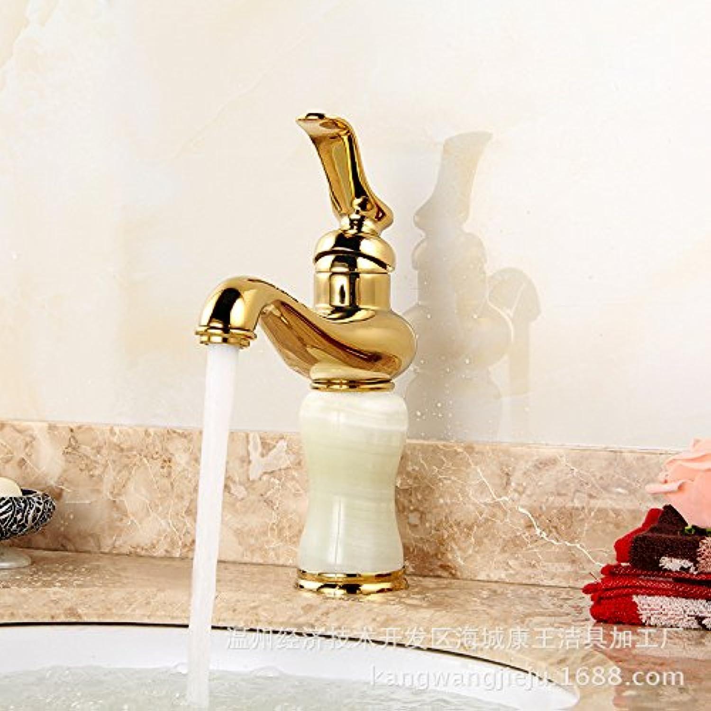 Waschtischarmatur Wasserhahn Küche Mit Herausziehbarer Dual-Spülbrause Spiralfederhahn Wasserhahn Kaltes Und Heies Wasser Vorhanden Messing Verchromt Antikes BeckenhahnGold