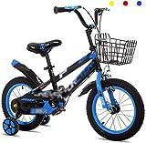 OYY Manufacture Bicicletas para niños, Chico Camino Ciclismo Ciclismo Aprendiendo Bicicleta Balance Rueda de Balance 12'14' Amortiguación Mountain Bike (Color: Verde, Tamaño: 14 Pulgadas)