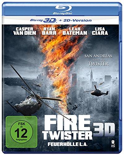 Fire Twister - Feuerhölle L.A. [3D Blu-ray + 2D Version]