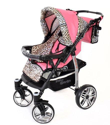 Sportive X2 - Landau pour bébé + Siège Auto - Poussette - Système 3en1 + Accessoires (Système...