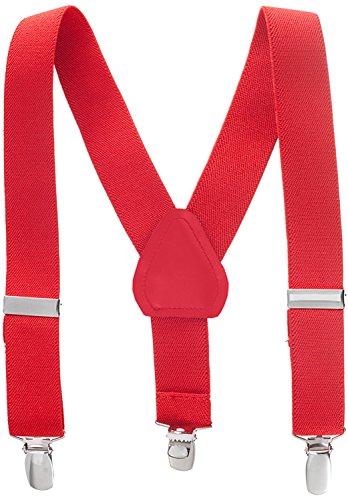Top tuxedo suspenders red for 2020
