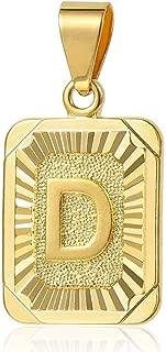 Best gold letter d pendant Reviews