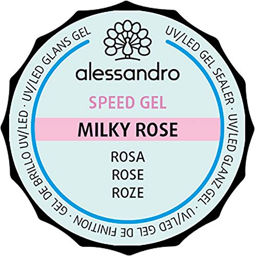 Alessandro International Speed Gel Milky Rose 15 g