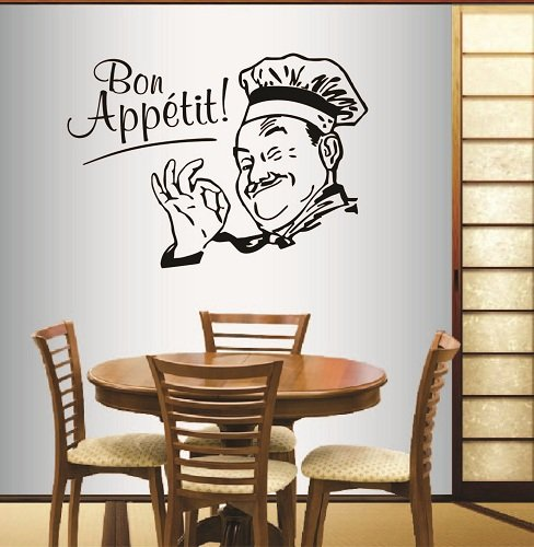 Wall Vinyl Decal Steak House Meat Catering Cafe Unique Decal caz4756