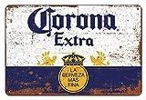 La principal inspiración para la corona mexicana, carteles de cerveza, regalos de vino o de pared, logotipos de latas del club de cerveza, dimensiones 20 cm x 30 cm (8 pulgadas x 12 pulgadas)