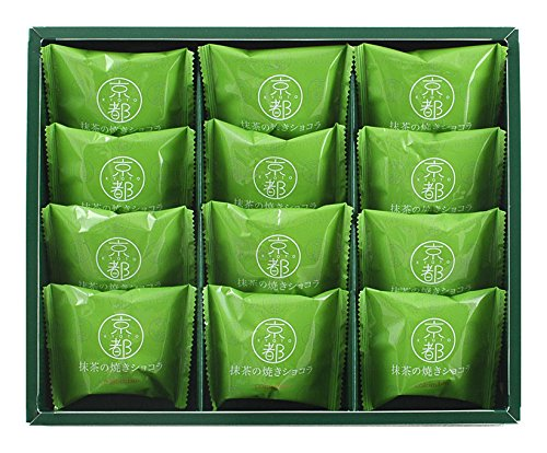 コロンバン 京都 抹茶の焼きショコラ 12個