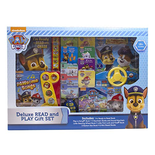 Nickelodeon - PAW Patrol Deluxe Read and Play 14-Book Set - PI Kids