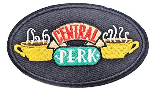 Friends Classic Tv Series Central Perk Coffee Shop Iron on Patch