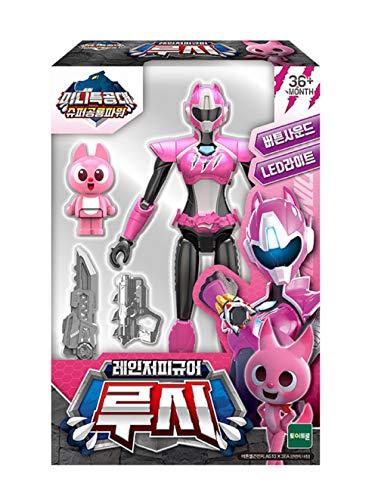 MINI FORCE Miniforce Ranger Figure Super Dinosaur Power Sound Toy (Lucy)