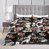 Eppedtul Ian Somerhalder Ultra-Soft Micro Fleece Blanket 60'' X50