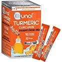 30-Count Qunol Turmeric Curcumin Instant Drink Mix, Packets