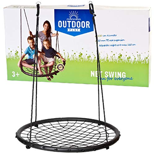 Outdoor 0710020 Play Net Swing 100 cm, Noir, 9,5 x 39 x 73 cm