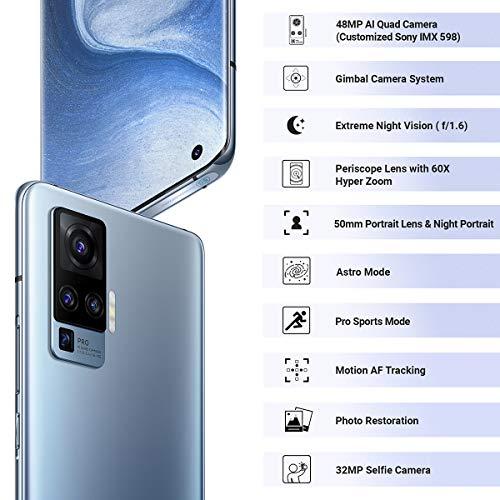 Vivo X50 Pro (Alpha Grey, 8GB RAM, 256GB Storage) with No Cost EMI/Additional Exchange Offers