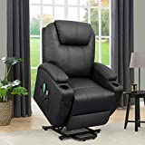 Flamaker Power Lift Recliner Chair PU Leather for Elderly...