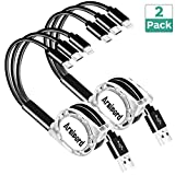 Arsiperd Multi USB Retractable Charging Cable, 4FT 3 in 1 Multiple Charger Cord
