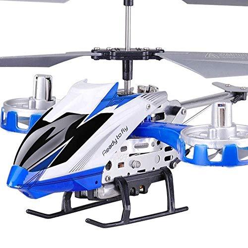 MEETGG Kikioo Mini Avión LED Resistencia a la caída Interior/al Aire Libre RC Helicopter 3.5 Canales RC Drone Aircraft Toy for Kids Teenager Boys Principiante Regalos de cumpleaños