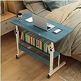 Mesa ajustable de escritorio ajustable para ordenador portátil, mesa de ordenador extraíble minimalista de pie escritorio de escritorio de estudio