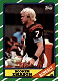 1986 Topps Football Rookie Card #255 Boomer Esiason Mint. rookie card picture