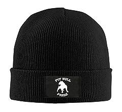 Pitbull Pride Men /& Womens Knitted Hat Soft Skull Cap