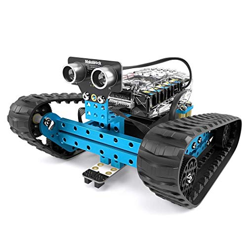 RCTOYCAR DIY Toy Smart Robot mBot Programmable Robot Kit, STEM Educational Engineering Design & Build 3 in 1 Programmable Robotic System Kit Ages 10+