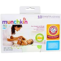 "Munchkin 使い捨て更衣パッド18"" X 26.75"" -10各(3パック)[健康・美容]"