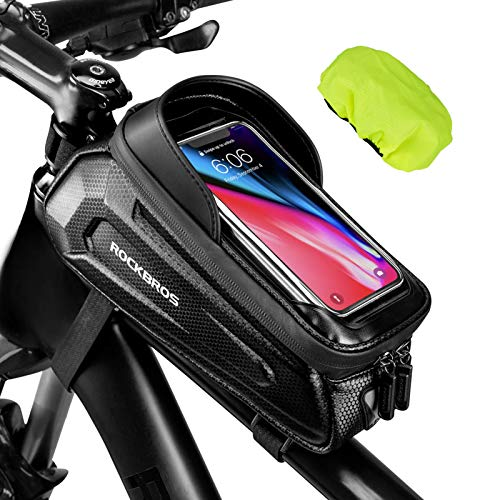 Handlebar Pouch with Cell Phone Holder