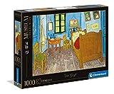 Clementoni-PZL 1000 Van Gogh LA HABITACIÓN DE Arles Puzzle Adulto, Multicolor (39616)