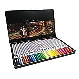 24 36 48 72 Lapis de Cor matite colorate professionali 72 matite acquerellabili al Piombo Set di matite colorate solubili in acqua materiale artistico