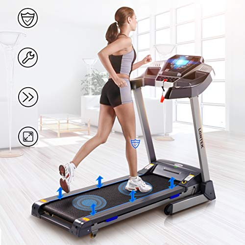 UMAY Bluetooth Motorized Treadmill