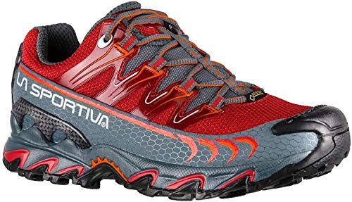 La Sportiva Ultra Raptor Woman GTX, Zapatillas de Trail Running Mujer, Multicolor (Garnet/Slate 000), 38.5 EU