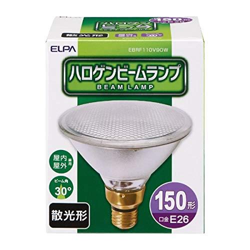 朝日電器 ELPA ハロゲンビームランプ散光90W EBRF110V90W