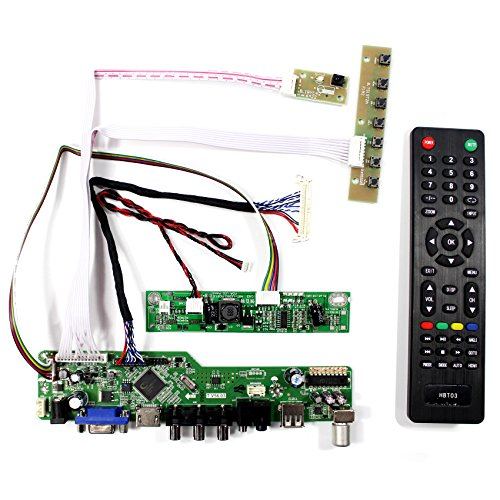 Preisvergleich Produktbild HDMI VGA AV USB RF Eingang LCD Controller Board Für 18, 5 '' 1366x768 M185BGE-L22 LTN185AT04 M185XW01 VD VF 30 Pins LCD-Panel