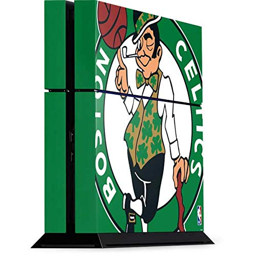 Skinit Decal Gaming Skin for PS4 Console - Officially Licensed NBA Boston Celtics Large Logo Design