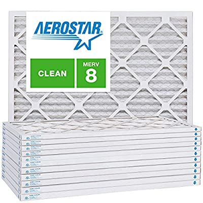 1 Inch AC and Furnace Air Filter by Aerostar Multi