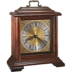 Howard Miller Medford Mantel Clock 612-481 – Windsor Cherry Wood with Quartz & Dual-Chime Movement