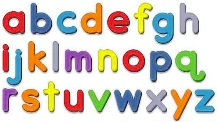 26 PCS ABC Magnetic Miami Mall New York Mall Letters Set Bubble Movable Lowercase or Foam