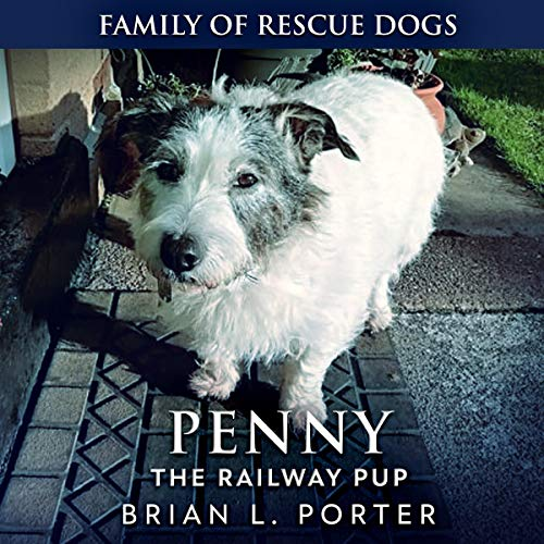 Penny the Railway Pup audiobook cover art