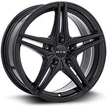 RTX Bern Alloy Wheel/Rim Satin Black Size 18x8 Inch Bolt Pattern 5x114.3 Offset 42 Center Bore 73.1 Center Caps included L...