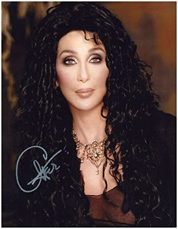 Photo Cher Autograph Signed Max 61% OFF 10 x 70% OFF Outlet 8