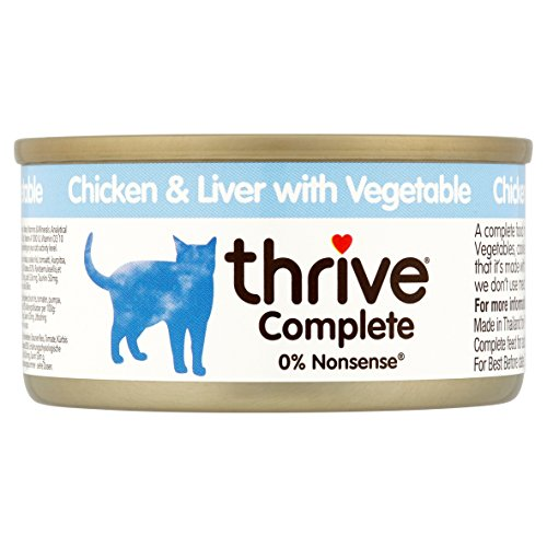 Thrive Complete Cat Food Chicken & Liver with Vegetables 75g