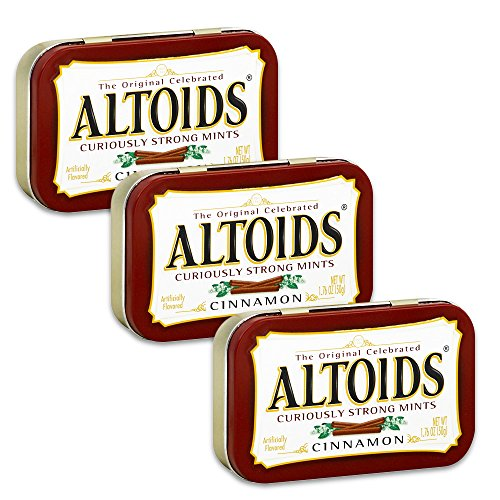 Altoids Cinnamon Mints 176 oz Pack of 3
