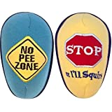 SOZO Weeblock Copack, Road Signs, Pee Absorbing Sponge for Use When Changing Diapers for Baby Boys