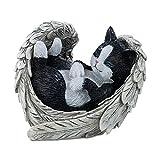 The Hamilton Collection Blake Jensen Cat Figurine: Furr-Ever in Our Hearts Figurine