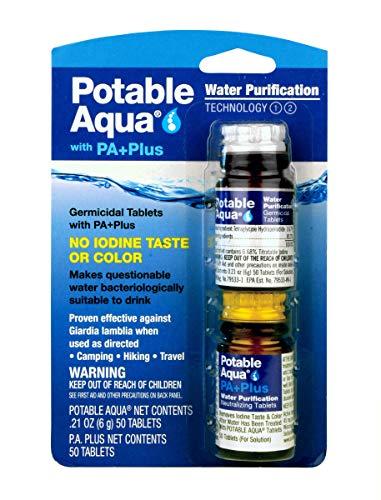 Potable Aqua Water Purification Tablets With PA...