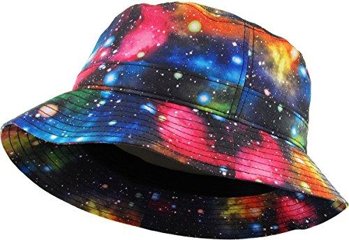 KBETHOS Galaxy Bucket Hat, One Size (Medium to Large), (Galaxy) Black